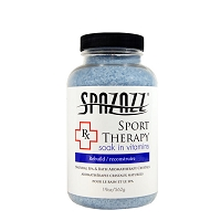 Spazazz 19oz  Rx Therapy Sports Therapy (Rebuild) Crystals