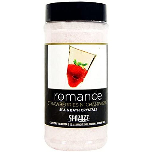 Spazazz 17oz Set the Mood Strawberries N Champagne (Romance) Crystals